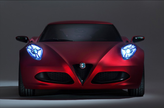The Alfa Romeo 4C debuts as Italy's latest supercar
