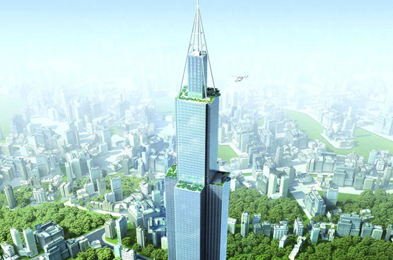 Sky City One to knock Burj Khalifa from top spot