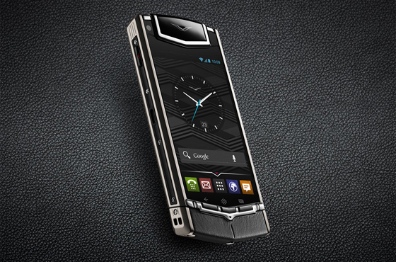 Luxury phone maker Vertu joins the world of Smartphones