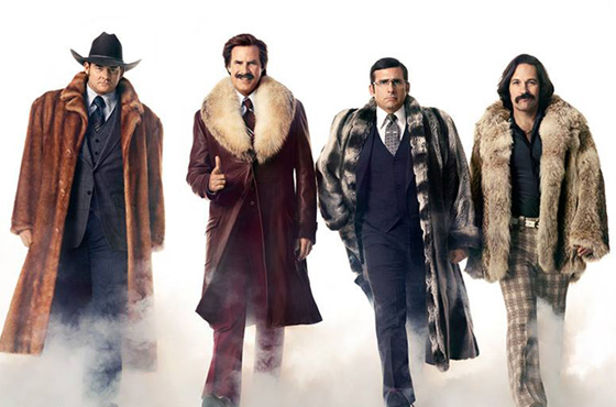 Paramount bumps up 'Anchorman 2' release date