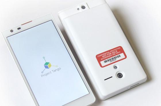 Google unveils 'Project Tango' 3D smartphone platform