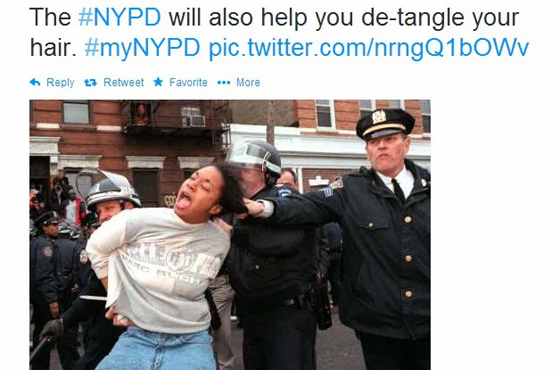 NYPD Twitter campaign backfires: Badly!