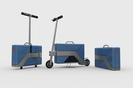 Green Energy Motors' Commute-Case; Available in his and hers