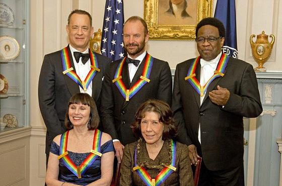 Kennedy Center Honors Sting, Al Green, Tom Hanks & more…