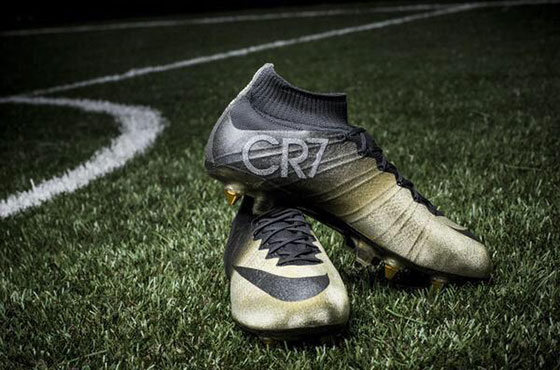 Cristiano Ronaldo Wins a Pair of Golden Boots from Nike