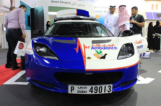 Dubai to Get Supercharged Ambulances