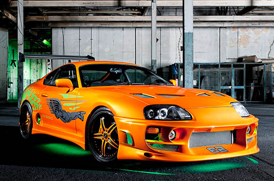 Own it! Paul Walker's Supra From the First Furious Movie