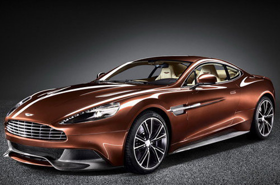 Vroom Vroom in Aston Martin's new Vanquish Volante