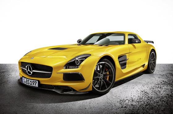 Mercedes reveals the 2014 SLS AMG Black Series
