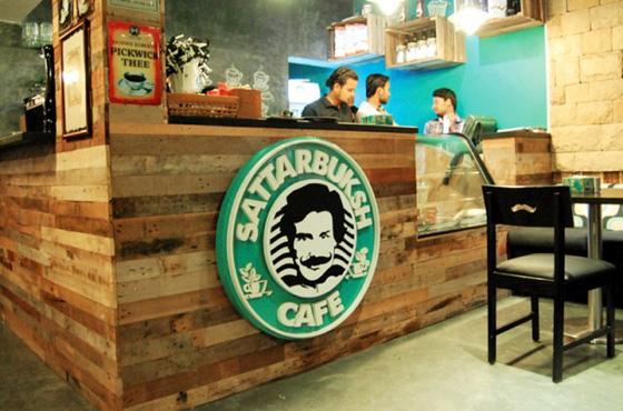 Sattar Buksh; it's all in the Mustache