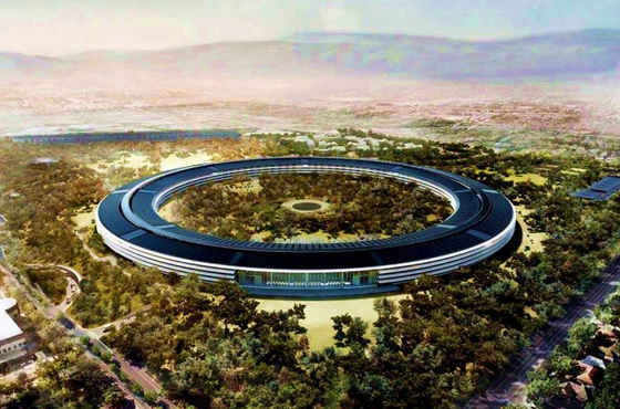 Travel into the future with Apple's Cupertino campus